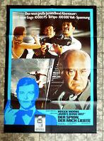 JAMES BOND 007 * Spion der mich liebte A1-FILMPOSTER ´77 Sondermotiv Seiko RAR