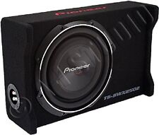 Pioneer Ts-swx2502 400 W Rms Woofer - Black - 20 Hz To 125 Hz - 4 Ohm - Vehicle