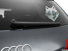 Wolf Werewolf Car Sticker Styling Window Decal, Chrome