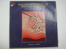 MAGNIFICIENT MUSIC Y.S.MOOLKI DILRUBA ESRAJ PIANO VIOLIN 1977 LP BOLLYWOOD VG+