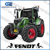 1 Stück FENDT - Traktor Scheiben Aufkleber - Sticker - Decal - L 80cm!