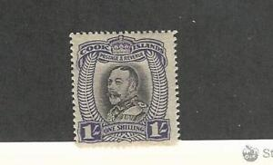 Cook Islands, Postage Stamp, #97 Mint Hinged, 1936