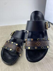 LOUIS VUITTON bom dia sandals size 36