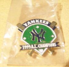 New York Yankees 1999 American League AL Champions pin