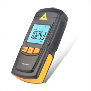 GM8905 Handheld Non-Contact LCD Display 2.5-99999 RPM Digital Laser Tachometer