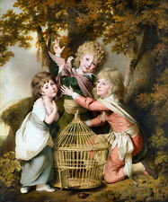 The Synnot Children 1781 by Joseph Wright of Derby Old Masters 13x15 Art Print