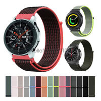 Woven Nylon Sport Loop Watch Band Strap For Samsung Galaxy Watch Gear S3 Sport
