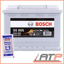 BOSCH S5 005 63Ah 610A 12V AUTO-BATTERIE STARTERBATTERIE+10g POL-FETT 31838016