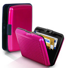 Candy Color Waterproof ID Credit Card Wallet Holder Aluminum Pocket Case Box New