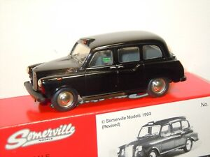 Austin FX4 Taxi - Somerville 100A England 1:43 in Box *34985
