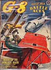 G-8 and his BATTLE ACES - FEBRUARY, 1941