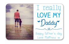 Personalised Printed Wallet card Really love my Daddy Christmas photo gift