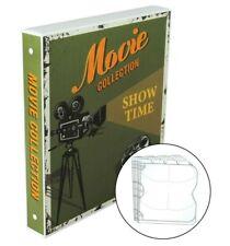 Blu-ray/DVD Movie Collection Storage Case, Holds 80 Movie Discs