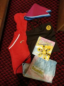 Brownies/Guides Items And Book And Bags