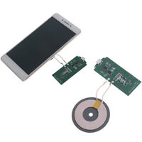 5W QI Wireless charger module transmitter PCBA circuit board with DIY coil FT