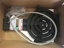 BRAN NEW WOK  CAMPING 4 Ring Burner 1/4 Male Connection 59MJ & HOSE REGULATOR