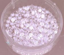 2 carat lot of Loose Round Brilliant Diamonds 1.9 - 2 mm diameter 0.03 ct, G SI