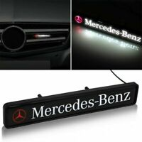 MERCEDES BENZ Front Grille Badge Led Light Luminous Universal A CLASS C CLASS