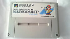 MARIO PAINT SHVC-MP SUPER FAMICOM JAPONÉS NINTENDO JAP.NTSC-J.SNES.SFC