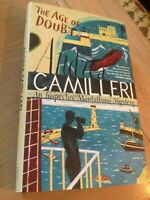 The Age of Doubt by Andrea Camilleri (Inspector Montalbano), HB, First Ed, 3 imp