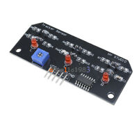 Three Channel Infrared Detection Tracing Photoelectric Sensor Tracking Module