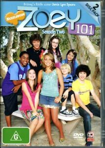 Zoey 101 Season 2 - Nickelodeon - DVD - TV Show - Region 4 - FAST POST