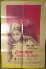 SOMETIME SWEET SUSAN ADULT MOVIE POSTER, SHAWN HARRIS, SARAH NICHOLSON