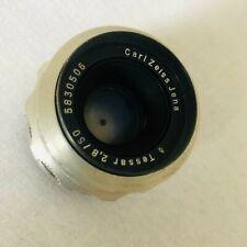 Carl Zeiss Jena Tessar 1:2.8f / 50mm