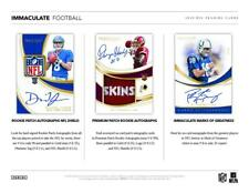 DALLAS COWBOYS 2019 PANINI IMMACULATE FOOTBALL 3 BOX HALF CASE BREAK #7