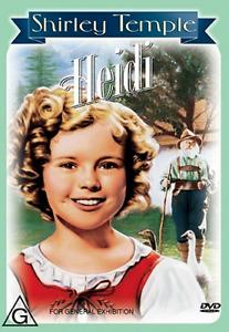 Heidi DVD -1937 Region 4 - SHIRLEY TEMPLE - Drama / Family / Musical
