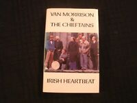 Van Morrison &The Chieftains - Irish Heartbeat - 1988 Cassette / Folk Rock