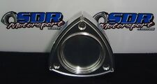 rotor shaped oil cap mazda rx2 rx3 rx4 rx7 rx8 chrome finish