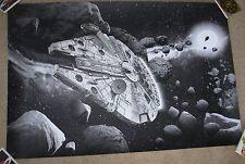 Chris Skinner STAR WARS VIEWPOINTS Milennium Falcon Art Print poster metallic