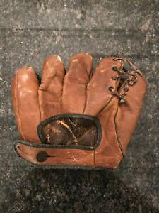 VINTAGE JOE MEDWICK BASEBALL MITT GLOVE 4213 COWHIDE 1930-1940's SPORTING GOODS