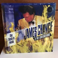 JAMES CHANCE CONTORTIONS Flesh Is Weak LP 2017 SEALED w/download NO WAVE