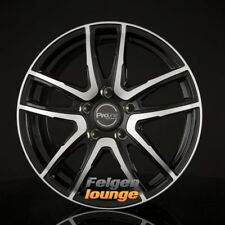 4 CERCHI IN LEGA ProLine Wheels PXV Black Polished 7,5x18 et45 5x114,3 ml74, 1 NUOVO