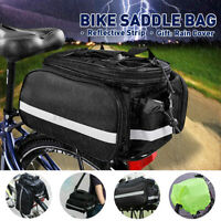 Bicycle Waterproof Storage Saddle Bag Bike Seat Cycling Rear Pouch Sport  /*/