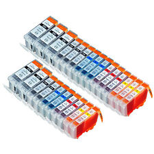 25PK Comp  Ink Cartridges For Canon PGI5 CLI8 PIXMA MX850 MP500 MP530