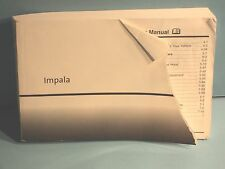 06 2006 Chevrolet Impala owners manual