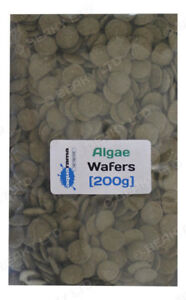 Algae Wafers Tropical Fish Food Aquarama High Quallity Pleco,Catfish etc  [200g]