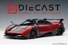 AUTOart 78276 Pagani Huayra BC, Rosso Dubai/Carbon 1:18TH Scale