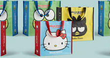 3 New Hello Kitty Limited Edition Shopping Tote Bags World Market Party Gift