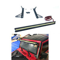 LED Light Bar for 1/10 Axial SCX10 90046 Jeep Wrangler RC Car Modification Parts