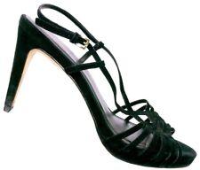 Cole Haan Women's Black Suede Stiletto Sandal Heels Size 8.5 B