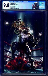 Venom #28 CGC 9.8 VIRGIN KAEL NGU WRESTLING COVER CUSTOM VENOM LABEL NM/MT