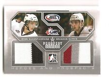 Ryan Nugent-Hopkins + Sutter 2009-10 ITG Heroes Prospects Combos Jersey 1/40
