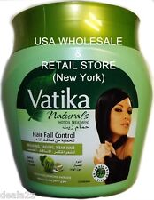 500g Dabur Vatika HAIR FALL CONTROL HOT OIL GARLIC CACTUS COCONUT