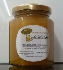 Miel bio Romarin 100% naturel 250gr