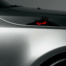 1x Cool Monster Red Eyes Peeper Car Sticker Bumper Window Decorative Accessories
