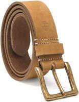 Timberland Men's 38mm Icon Nubuck Boot Leather Belt